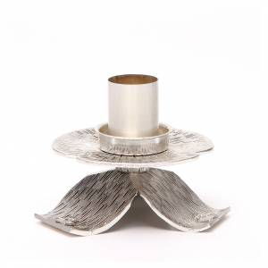 Metal candle holders: Altar candle holder with decorations