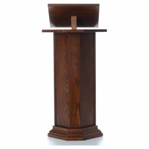 Lecterns: Ambo in solid wood, adjustable height H130 cm