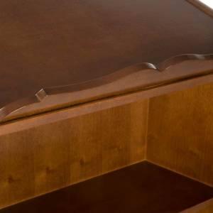 Ambone legno di noce simboli 4 evangelisti s7