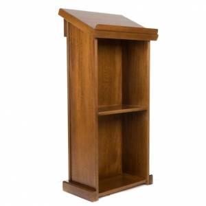 Leggii a colonna: Ambone legno di noce
