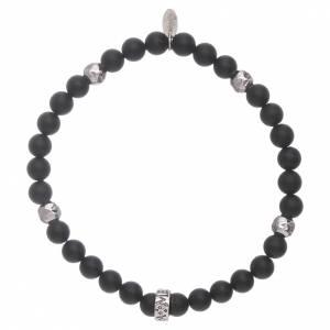 AMEN bracelets: AMEN black onyx 925 sterling silver bracelet with insert