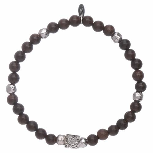 AMEN ebony 925 sterling silver Faith, Hope and Charity s3