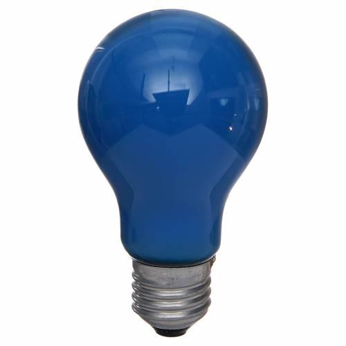 Ampoule 40W E27 bleu clair illumination crèche s1