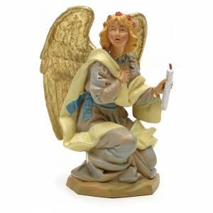 Ange à genoux crèche Fontanini 19 cm s1