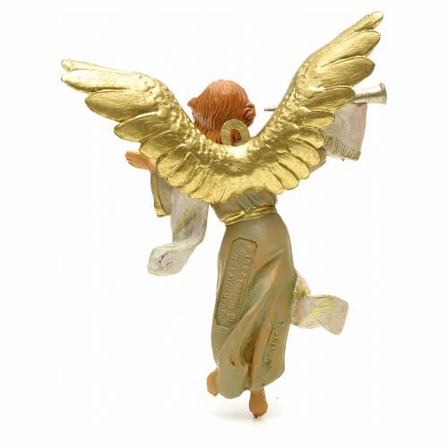 Ange avec trompette crèche 12 cm Fontanini s2