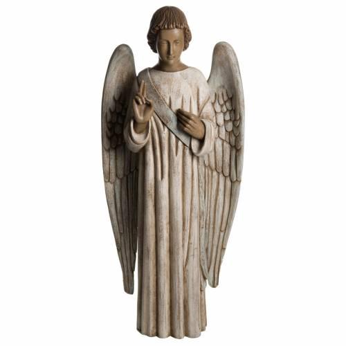 Ange de l'Annonciation 100 cm bois Bethléem s1