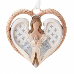 Legacy of Love: Angel ornament heart shaped Legacy of Love