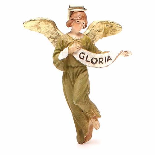 Angelo Gloria resina dipinta cm 10 Linea economica Landi s1