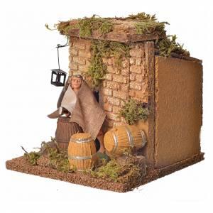 Animated nativity figurine, cooper, 10 cm s6