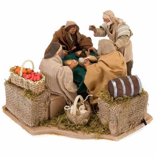 Animated nativity scene set, 4 characters 12 cm s1