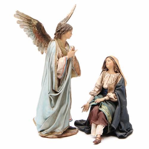 Annunciation 18cm Angela Tripi Nativity s1