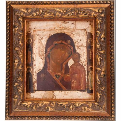 Antique icon 'Our Lady of Kazan' s1