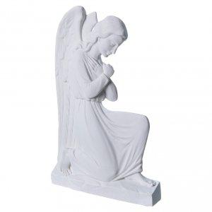 Applique Ange bras croisées marbre 25 cm s2