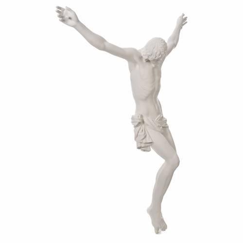 Appliqué Corps du Christ fibre de verre 90-120 cm s7
