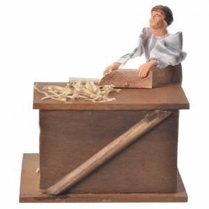 Arabian carpenter, animated nativity figurine 12cm s1