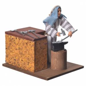 Arabian smith, animated nativity figurine, 12cm s2