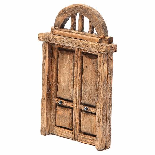 Arched door for front 18x12cm s2