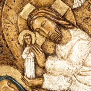 Bassorilievi pietra: Assunzione bassorilievo pietra Bethléem