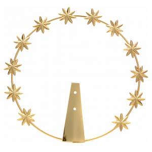 Auréole avec étoiles 8 pointes s1