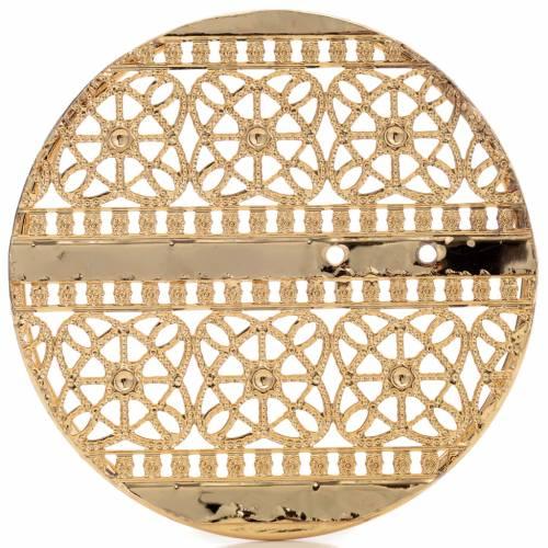 Auréole laiton doré et décors s5