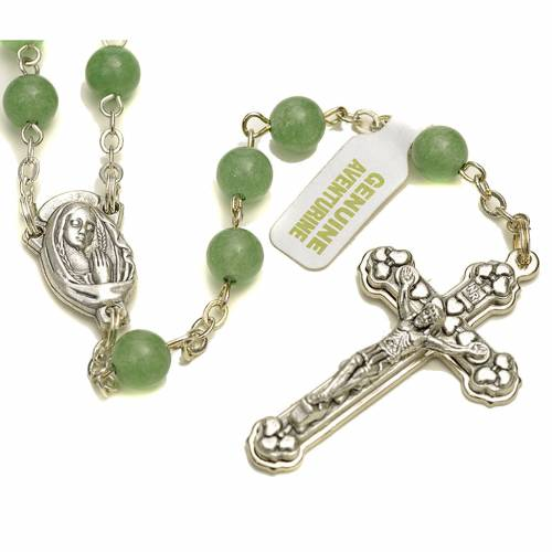 Aventurine quartz rosary s1