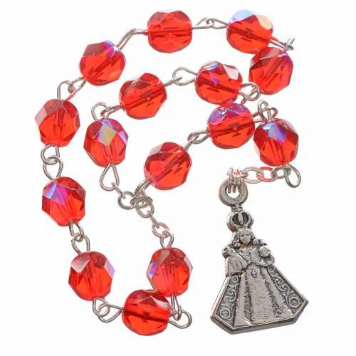 Baby Jesus of Prague rosary beads s1