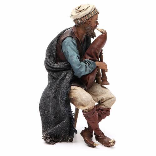 Bagpiper 30cm Angela Tripi Nativity Scene s4