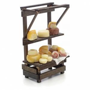 Banco formaggi e salumi presepe Napoli s2