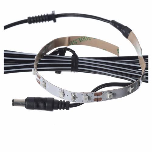Bande 15 leds 0,8x25 cm Power PS rouge FrialPower s3