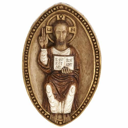 Bas-relief de Jésus le vivant s1