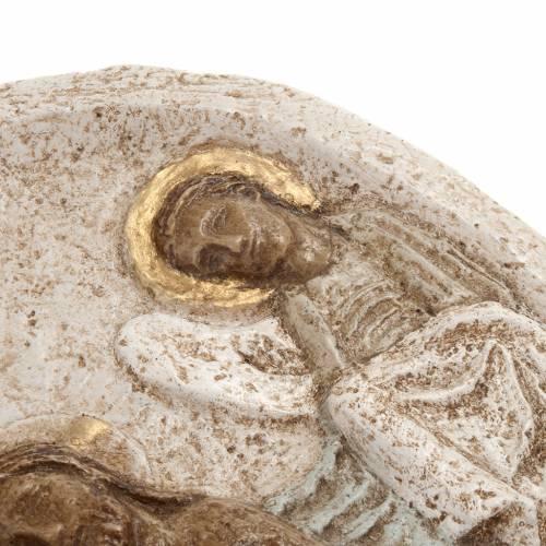 Bassorilievo pietra Battesimo di Cristo Bethléem s3