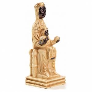 Beata Vergine di Montserrat 16 cm pietra avorio Bethléem s4