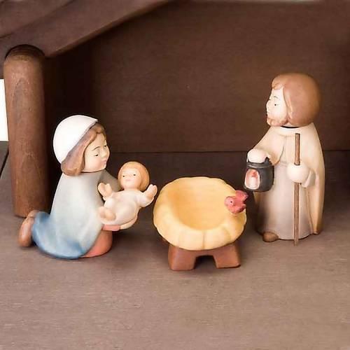 Belén Niños madera con imanes s5