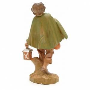 Berger avec sa lanterne crèche Fontanini 12 cm s2