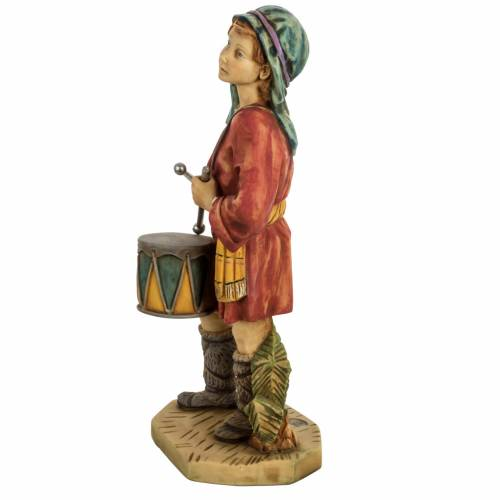 Berger avec tambour crèche noel 52 cm Fontanini s4