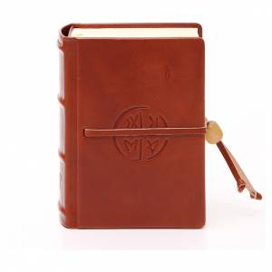 Bibbia di Gerusalemme pelle tascabile rilievi s1