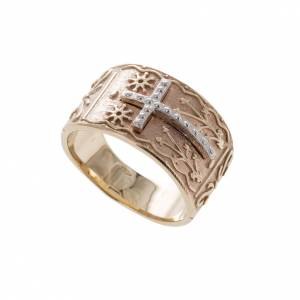 Bishop's ring in 9kt pink gold s1