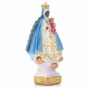 Black Virgin of Regla statue in plaster, 30 cm s3