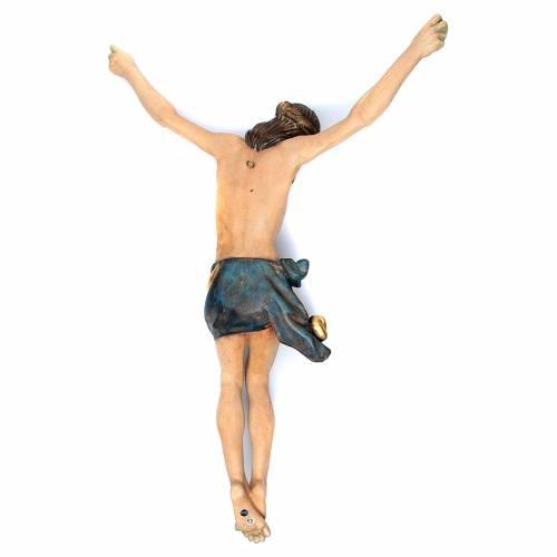 Body of Christ in Valgardena wood, antique gold corpus  model s3