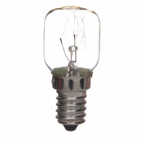 Bombillo con efecto a candela 15W E14 s1
