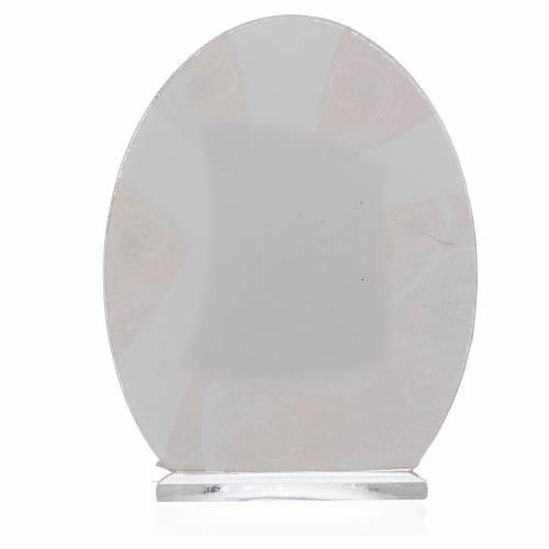 Bonbonnière Sainte Confirmation argent 10,5 cm s2