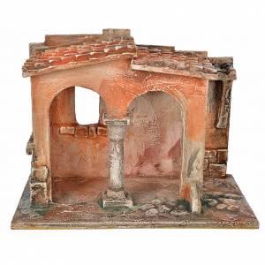 Ambientazioni, botteghe, case, pozzi: Bottega artigiana per presepe Fontanini cm 12