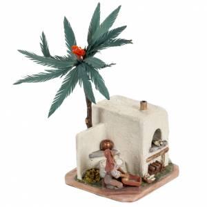 Boulangerie avec four crèche Noel Fontanini 12 cm s2