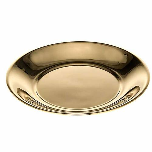 Bowl in gold-plated or palladium plated  brass s2