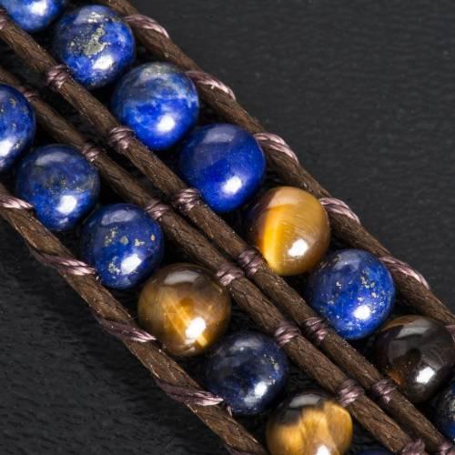 Bracciale Lapislazzuli 4mm s6