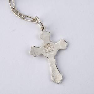 Bracelet argent 800 perles millefiori 8 mm s4