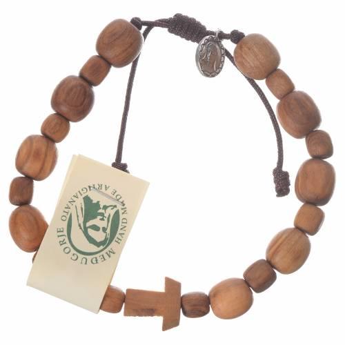 Bracelet en olivier de Medjugorje s1