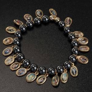 Bracelet, images, hématite s3