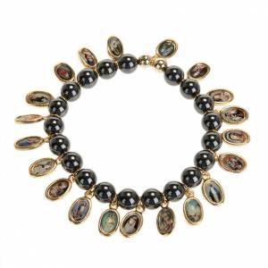 Bracelet, images, hématite s1