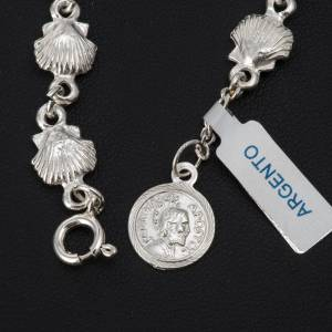 Bracelet St Jacques de Compostelle argent 800 s3